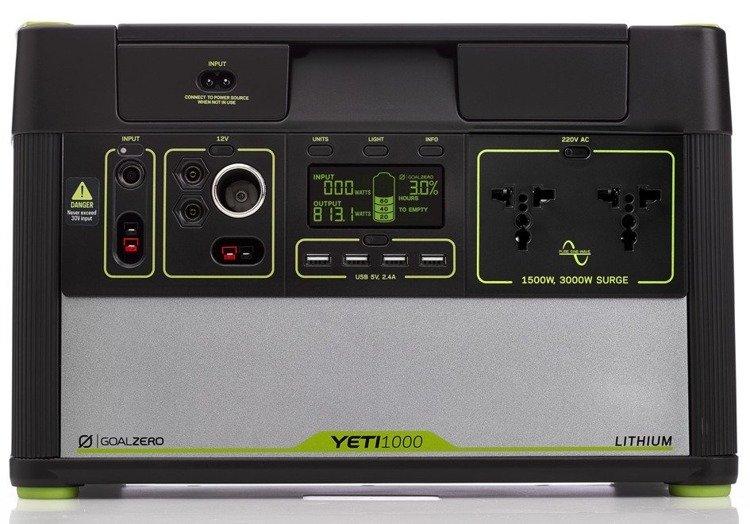 Przenośna stacja energii Goal Zero YETI 1000 Lithium (230V